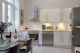 Kitchen Design For Apartments Delectable Open Kitchen Designs In Small Apartments Wonderful Interior Design