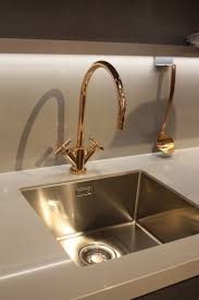 kitchen in motion gold faucet