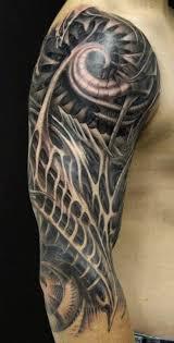 148 Biomechanical Tattoo For Geeks