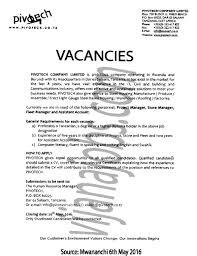Business Operations Project Manager Job Description Duties