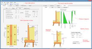 Counterfort Retaining Wall Design Software Asdip Retain 4 Release Retaining Wall Design Software