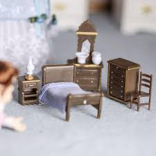 Image Diy Click Here For Larger View Factory Direct Craft Micro Mini Bedroom Furniture Set Bedroom Miniatures Dollhouse
