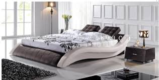 italian white furniture. highend king size italian whiteblack genuine leather round bed white furniture