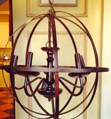 diy metal orb chandelier orb chandelier round metal chandelier metal orb