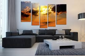 5 piece huge canvas print bedroom multi panel canvas landscape artwork desert group on large multi panel canvas wall art with 5 piece artwork landscape canvas photography desert multi panel