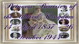 The duke and duchess of york's eldest daughter, 31, exchanged vows with property developer edoardo at all saints chapel in windsor great park in an intimate ceremony, with strict social distancing measures in place. Princess Beatrice Of The United Kingdom 14 April 1857 26 October 1944 Youtube