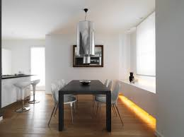 dining room track lighting. eased edge profile top added benches minimalist dining room design square single based table track lighting retro wooden e