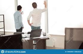 The creative office Modern Desk In The Creative Office Octane Blog Entrepreneurs Organization Business Backgrounddesk In The Creative Office Stock Image Image