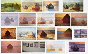 haystacks monet 1890 91 it s hard to believe that these