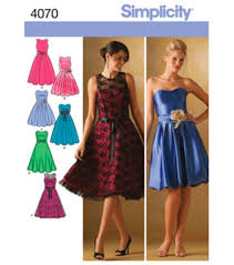 Simplicity Wedding Dress Patterns Adorable Simplicity Pattern 48MissesMiss Petite Special OccasionSz 4848