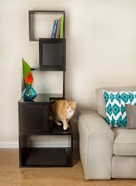 sebastian modern cat tree  black