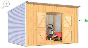 Small Picture The Shed Smiths Classic Lean To 3627 Garden Sheds NZ