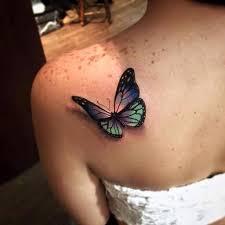 красивое тату бабочки на спине руках ногах пояснице