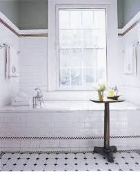 bathroom white tiles:  images about  bathroom on pinterest black and white tiles greige paint colors and alcove