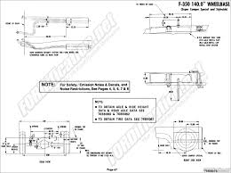 1976 ford body builder's layout book fordification net F350 Frame Diagram f350 (140 0\
