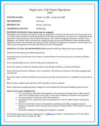 Call Center Resume Sample Call Center Resume Sample No Experience Sample Call Center Resume 76