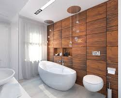 best choice of bathroom wood accent wall at