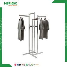 china 4 way chrome plating garment racks china garment racks coat stand