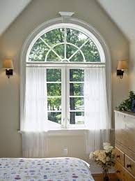 Arched Windows Curtains Houzz Arch Window Curtains
