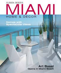 design miami home decor magazine