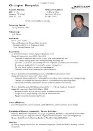 Current College Student Resume Examples Resume For Study