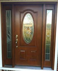 glass front doors s s wood exterior doors with glass