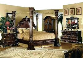 Key Town Bedroom Set White Canopy Sets For Adults Furniture North ...
