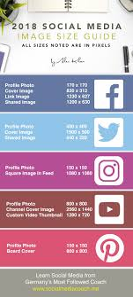 facebook icon size 2018 social media image size guide facebook twitter youtube