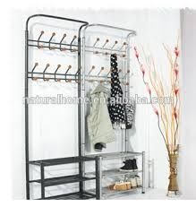 Coat And Shoe Rack Home furniture metal hat stands coat hanger stand with shoe rack 47