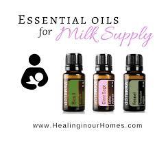 doterra essential oils for tfeeding