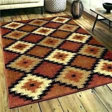 round brown zebra rug outdoor zebra rug indoor area rugs at round s brown cowhide new
