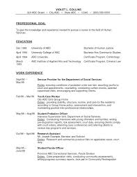 Prisoner Escort Officer Sample Resume
