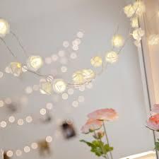 Flower Lights For Bedroom 2m 20 Led Rose Flower Fairy String Lights Holiday Lighting