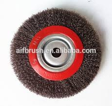 buffing wheel for grinder. steel wire brush polishing buffing wheel brushes with keyway for grinder c