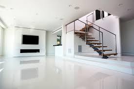 Impressive White Tile Flooring Living Room Fantasticbeigetilecornershelfmodernlivingroomwithwhiteporcelain Pinterest And Modern Design