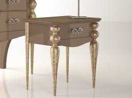 gold bedside table. Fine Table Black And Gold Bedside Table On I