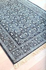 white oriental rug rugs blue