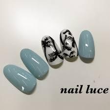 夏海リゾートハンドシンプル Nail Luce ネイル ルーチェのネイル