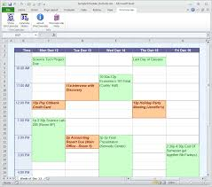 Online Weekly Planner Maker Time Schedule Maker Magdalene Project Org