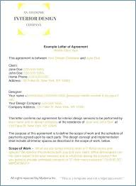 Interior Design Contracts Templates Landscape Design Agreements And