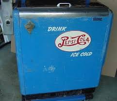 In Working Order As A Vending Machine New VINTAGE PEPSI COLA Vending Machine Cooler Working Condition Pepsi