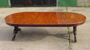 4 5 metre antique dining table impressive 5ft round extending to 14ft length victorian mahogany wind
