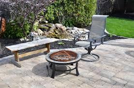 loose flagstone patio. Patio. Back-patio2 Loose Flagstone Patio