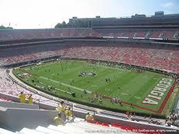 Sanford Stadium View From Upper Level 302 Vivid Seats