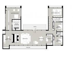 cute u shaped house floor plans 3