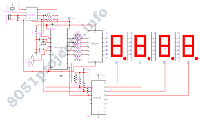 7 segment clock circuit diagram the wiring diagram remote controlled digital clock ds1307 at89c2051 wiring diagram