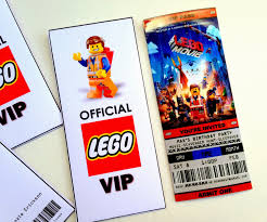 jennuine by rook no printable ticket style party printable ticket style party invitations the lego movie