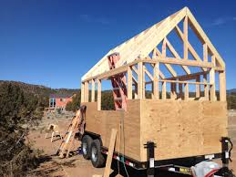 Small Picture Beehive Roof Framing and Wall Sheathing Clothesline Tiny Homes