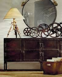 16 Spaces Featuring The Steampunk Interior Trend (lamp)