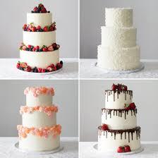 diy wedding cake. 4 Easy Ways to DIY a Wedding Cake Brit Co